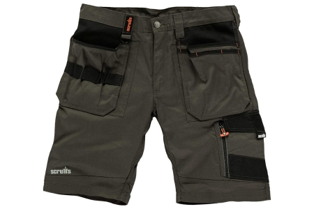 Scruffs Slate Trade Short 36inW