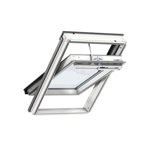 VELUX INTEGRA® Electric Centre Pivot Roof Window 940mm x 1400mm White Painted GGL PK08 207021U
