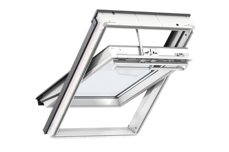 VELUX INTEGRA Solar Roof Window White Polyurethane 940mm x 1400mm GGU PK08 007030