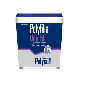 Polycell Polyfilla One Fill Lightweight Filler - 1L