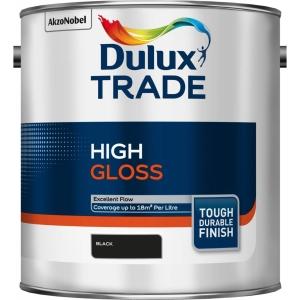 Dulux Trade High Gloss Paint Black