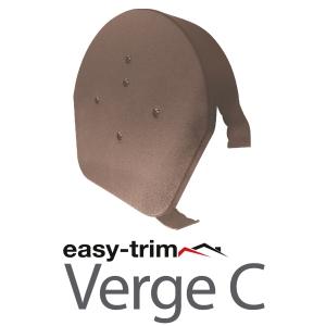 Easy Trim Easyverge Hr Ridge Cap And Flapcap Brown
