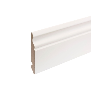 MDF Painted TRUprofile Torus/Ogee Skirting 18mm x 144mm x 4.4m