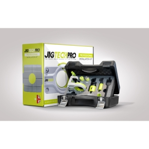 Jigtech JTP6000 Pro Case Includes Jig, Latch Tapper, Keep Locator, Hole Cutters and Spade Bit Box""