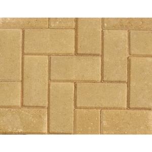 Marshalls Standard Concrete Block Paving Buff 200 x 100 x 50 - Pack of 488 (9.76m2)
