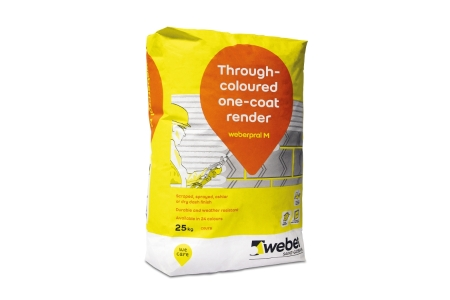 Weber.Pral M Monocouche Silver Pearl Render 25kg