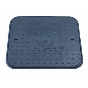 Clark-Drain Manhole Cover and Frame Cast Iron 450mm x 600mm