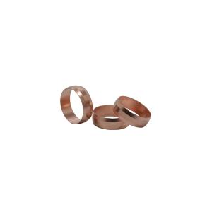 4Trade 22mm Copper Olives (Pack of 10)