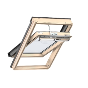 Velux INTEGRA® Electric Powered Roof Window 780 x 1178mm Lacquered Pine Ggl MK06 206621U