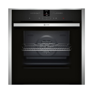 NEFF Built-in Single Oven Stainless Steel with Slide & Hide B47CR32N0B