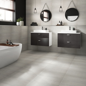 Westside Silver 300x600mm Glazed Porcelain Wall & Floor Tile