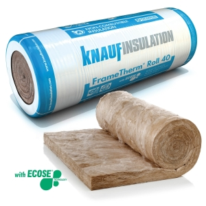 Knauf Insulation Frametherm Roll 40 140mm 2x570 9.14m2
