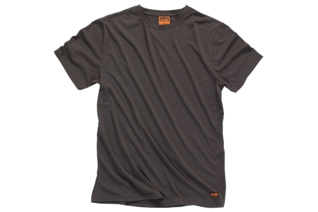 Scruffs T54673 Worker T-shirt Graphite L