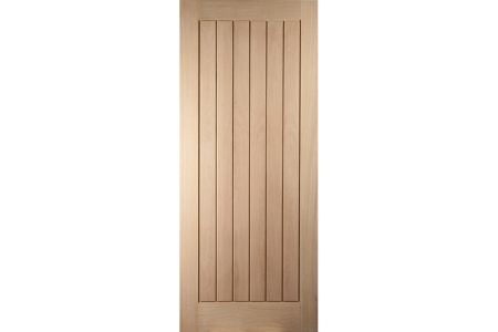 Oregon Cottage White Oak Exterior Door 2032x813mm
