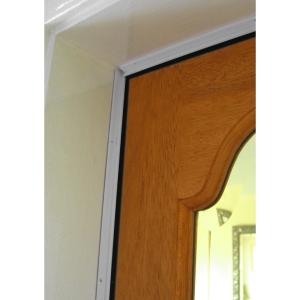 Stormguard Slikseal PVC white door surround seal