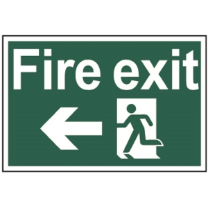 Spectrum Fire Exit (Running Man with Arrow Left) (Regular)