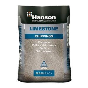Limestone Chips 20mm Clean Trade Pack