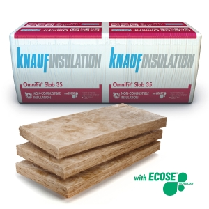 Knauf Insulation OmniFit Slab 140mm 1200x600 2.88m2