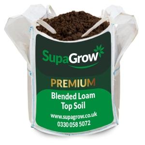 SupaGrow Blended Loam Bulk Bag 600L