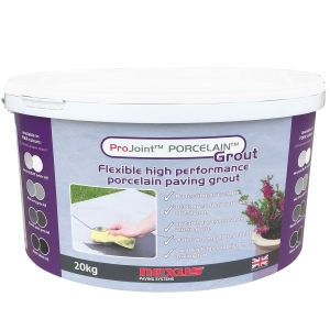Projoint Porcelain Paving Grout Neutral Buff 20kg PG20N