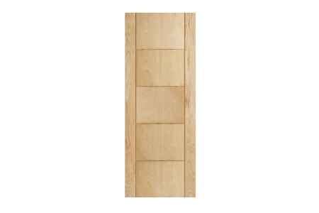 Internal 5 Groove Oak 30 Min Fire Door 1981 x 686 x 44mm