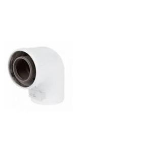 Baxi Multifit 93 Deg Bend 60/100 + Fixing Screws 720648401