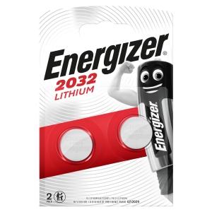 Energizer CR2032 Coin Battery PK2