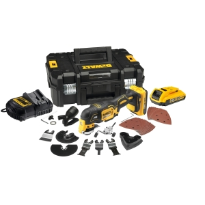 DeWalt 18V Xr Brushless Oscillating Tool 2AH Including T-stak with 35 Accs
