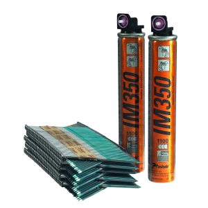Paslode 141233 Bright Straight Nail Fuel Pack 90 x 3.1mm
