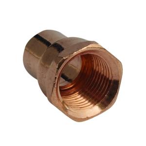 Straight Adaptor Female 15mm x 1/2in