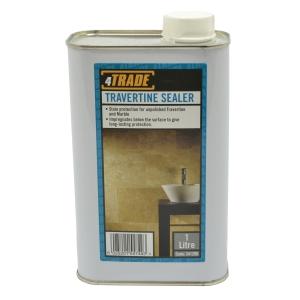 4TRADE Travertine Natural Stone Sealer 1L Tin