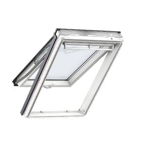 Velux Top Hung Roof Window 780 x 1398mm White Polyurethane Gpu MK08 0068