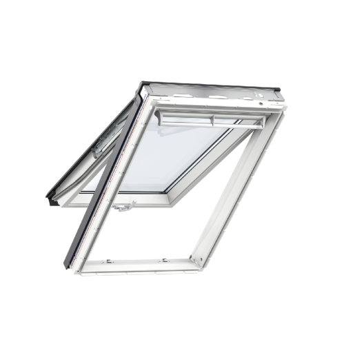 Velux Top Hung Roof Window 780 x 1398mm White Polyurethane Gpu MK08 0068