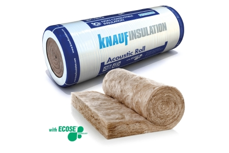 Knauf Insulation Acoustic Partition Roll 25mm x 4 x 600mm