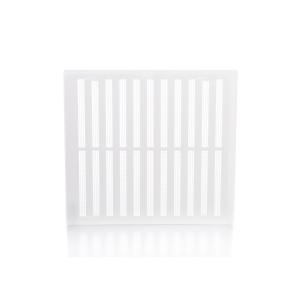 Rytons Building Products Ltd '9 x 9' Hit & Miss Ventilator - White
