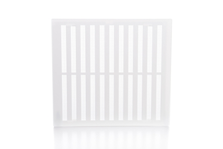Rytons Building Products Ltd '9 x 9' Hit & Miss Ventilator - White