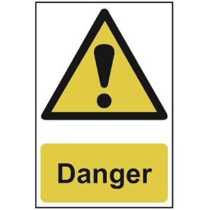 Spectrum Regular Size Danger Sign