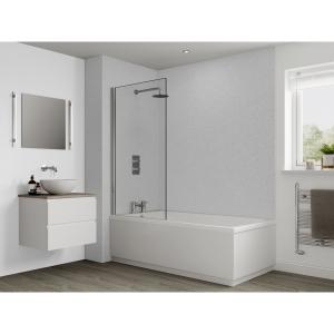 Multipanel Classic Bathroom Wall Panel Hydrolock Blizzard G030