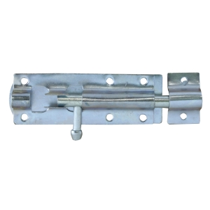 4Trade Tower Bolt Straight 100mm Galvanised