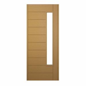 Stockholm Ultimate External Front Oak Veneer Door