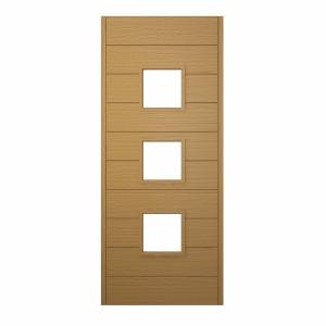 Malmo Ultimate External Front Oak Veneer Door