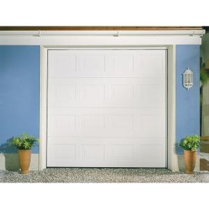 Garador Georgian Grain White Garage Door 2136mm x 2134mm
