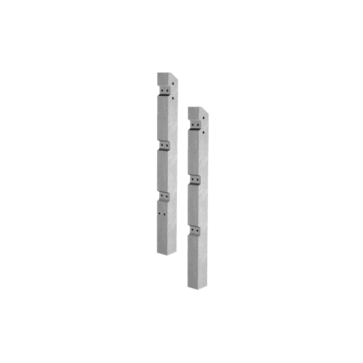 Supreme Concrete Fence Post Recessed Inter 110mm x 125>100mm x 2515mm - Pack of 25