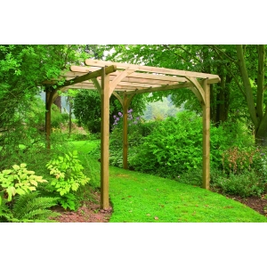 Pressure Treated Timber Ultima Pergola Kit 2400mm x 2400mm