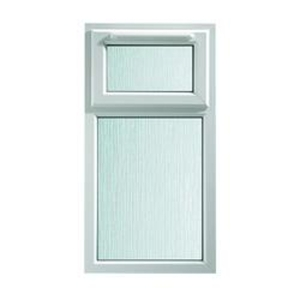 Euramax White Upvc Casement Window 2P Top Hung 610 x 1040mm