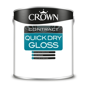 Crown Contract Crown Quick Dry Gloss Brilliant White 2.5L