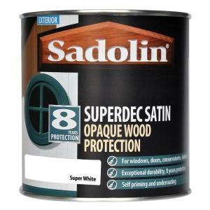 Sadolin Superdec Super White 1L