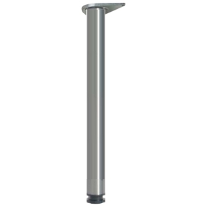 Breakfast Bar Leg Chrome