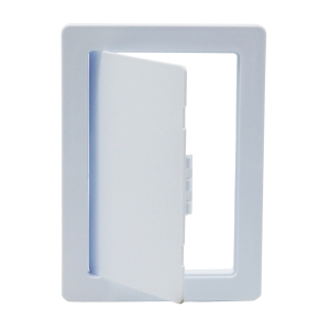 Tradeline Plastic Picture Frame Access Panel Primer White 300mm x 300mm - Pack of 10