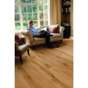 Elka Rustic Brushed & Oiled Oak Real Wood Engineered